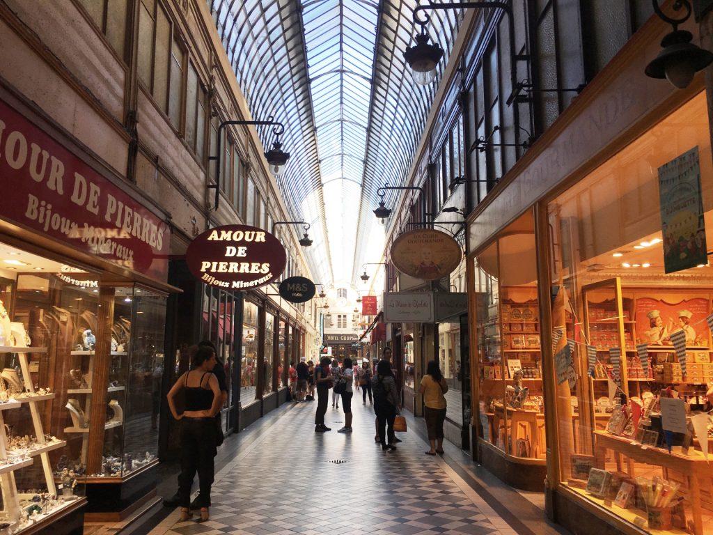 パリ パサージュジョフロワ 観光