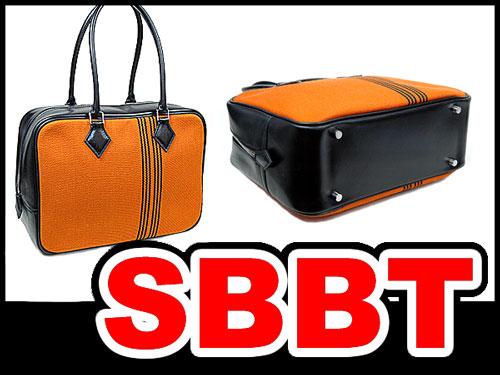 プリュム28 ポタモスオレンジ ボックスカーフ 黒