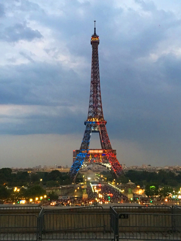 パリ ワールドカップ エッフェル塔
