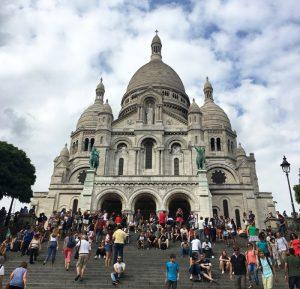 サクレクール寺院 モンマルトル パリ