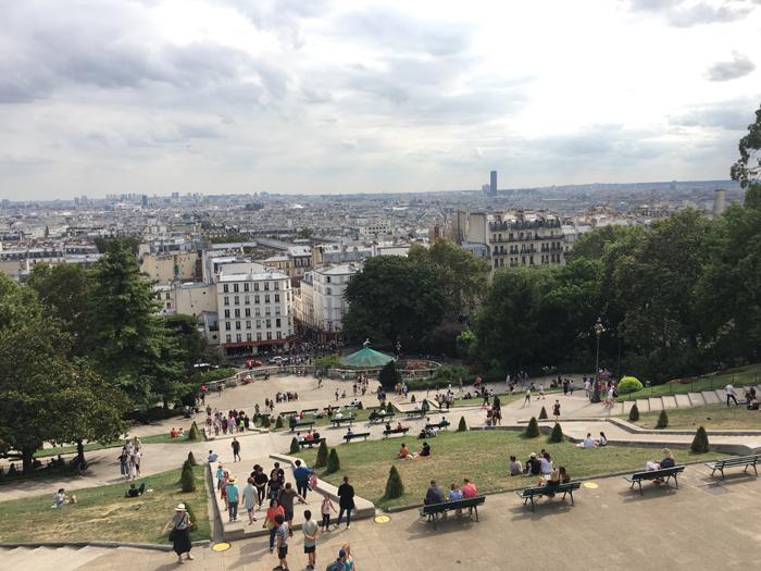 パリ アメリ ロケ地 サクレクール