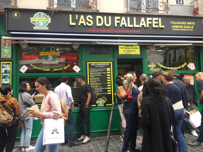 ファラフェル パリ
