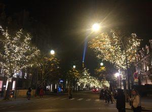 パリ ライトアップ