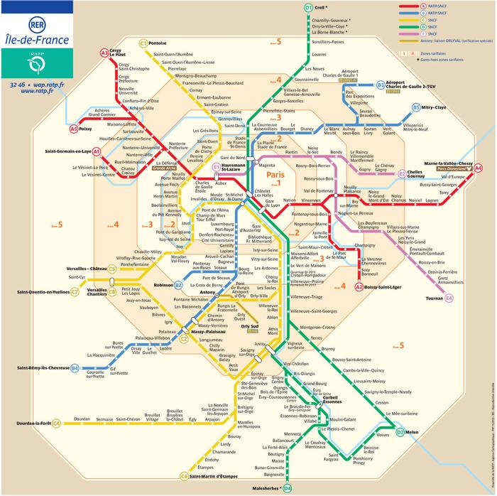 パリ 鉄道