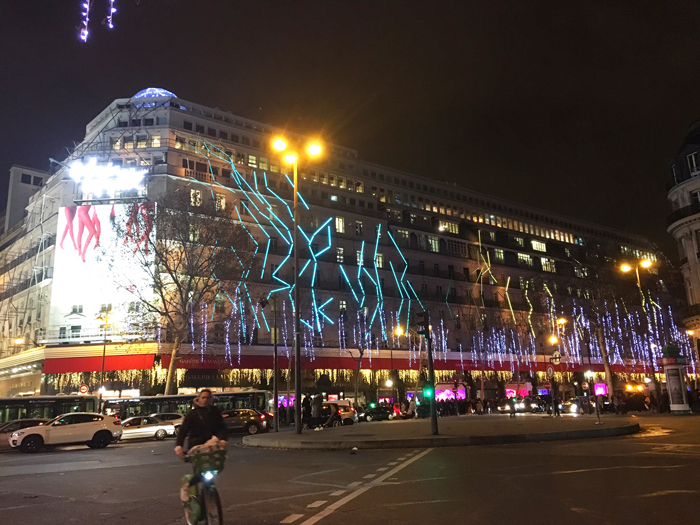 パリ ギャラリーラファイエット デパート