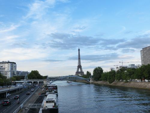 パリ エッフェル塔 自由の女神