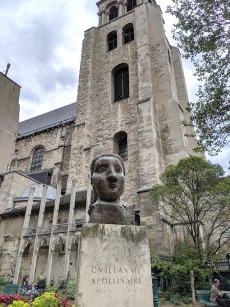 パリ サンジェルマンデプレ教会 ピカソ