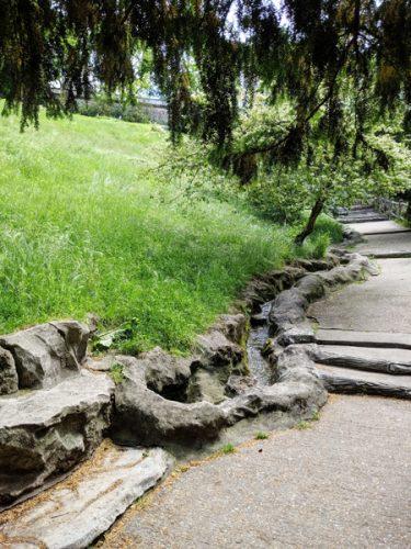 ビュットショーモン公園 パリ
