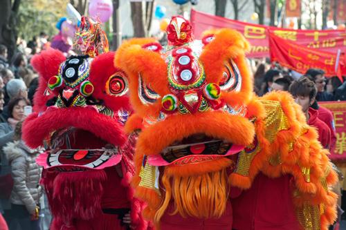 中国の旧正月 パレード パリ