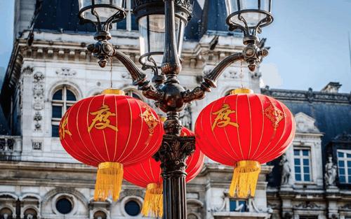 パリ 旧正月