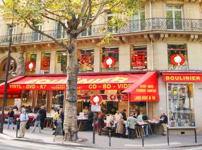 パリ 古本屋