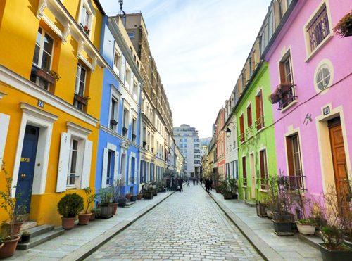 パリ 観光地 Rue Crémieux クレミュー通り