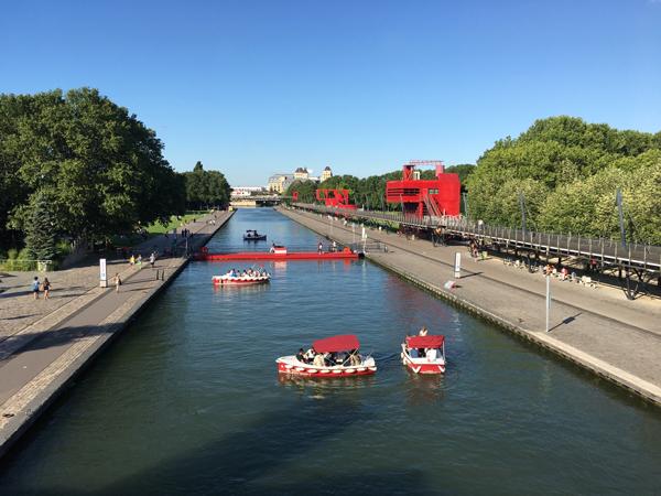 パリ ラ・ヴィレット 公園