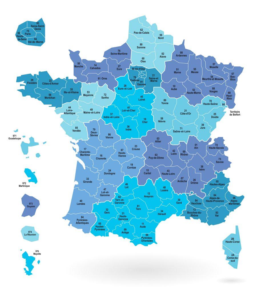 フランスの県
