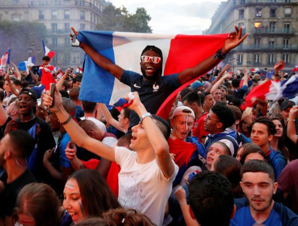 パリ ワールドカップ2018