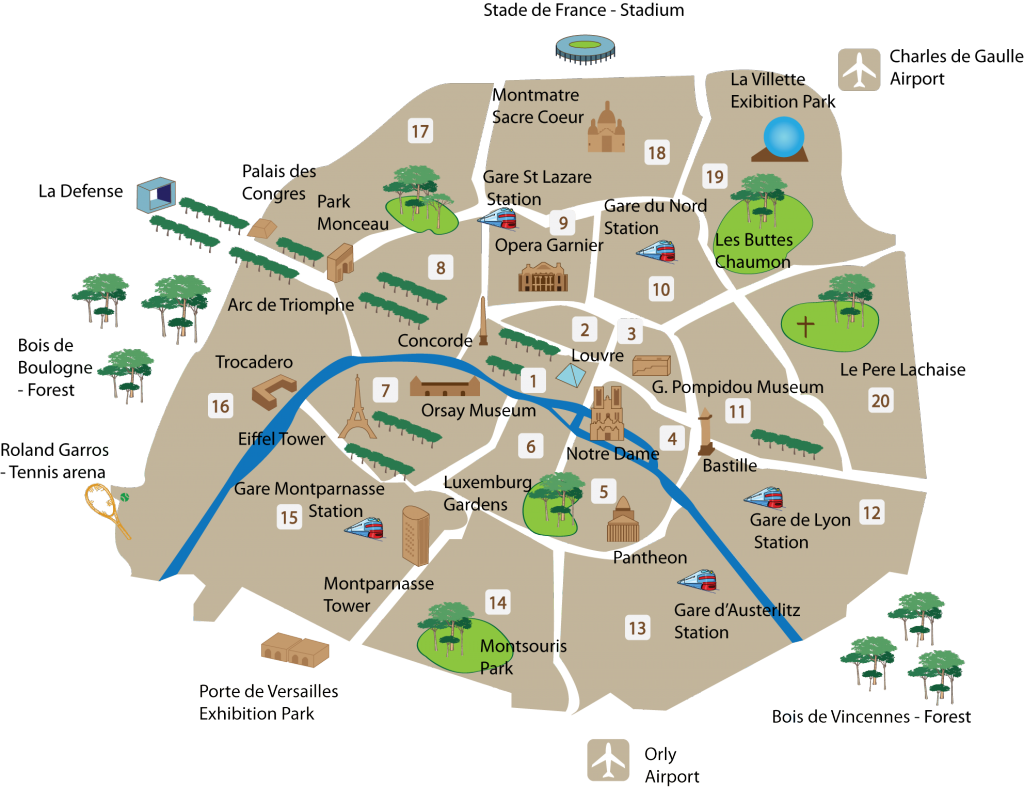 パリ マップ