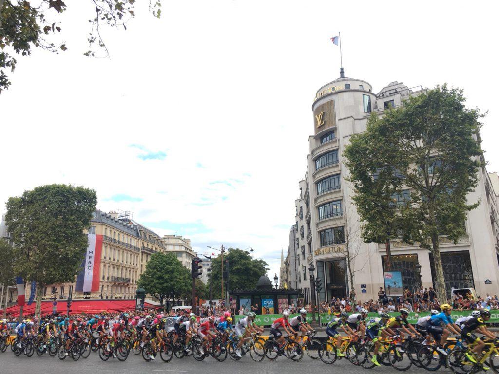 パリ ツール・ド・フランス2018