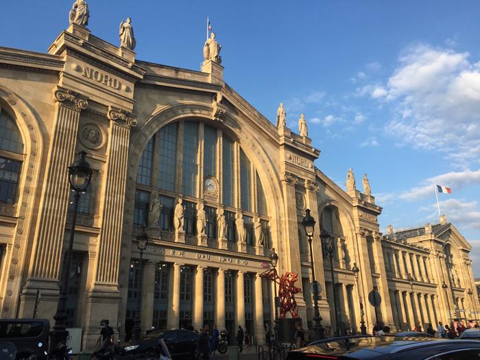 パリ 北駅 観光
