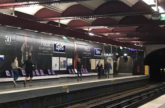 オペラ メトロ パリ