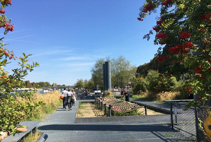 セーヌ川 公園