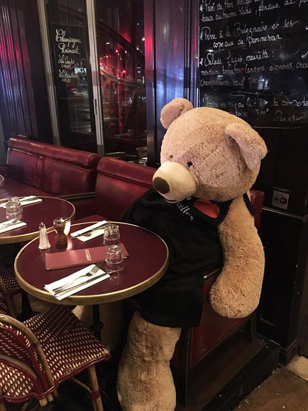 パリ クマ レゴブラン
