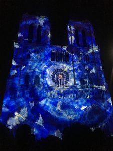 ノートル・ダム大聖堂 パリ 観光 プロジェクション・マッピング