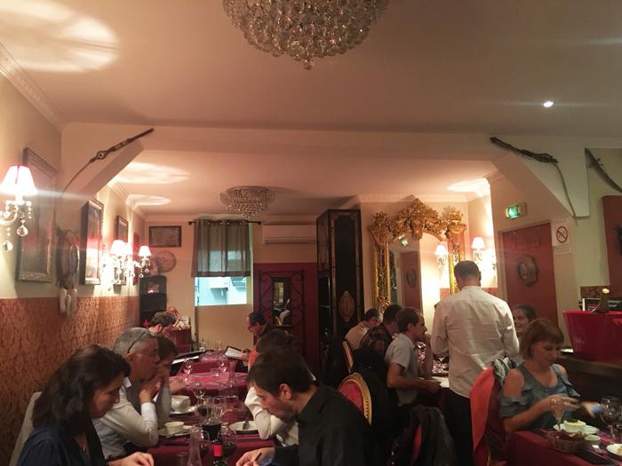 ロシア料理 パリ