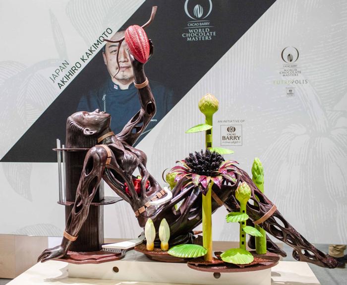 ワールドチョコレートマスターズ パリ