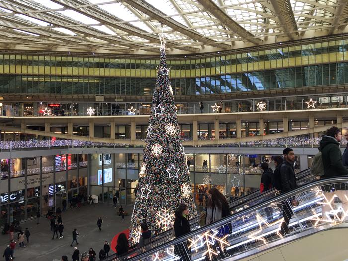 レアル シャトレ パリ クリスマス