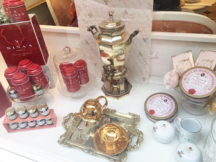 パリ ニナス 紅茶 マリーアントワネット バラ