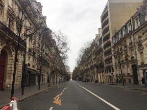 パリ デモ 黄色のベスト