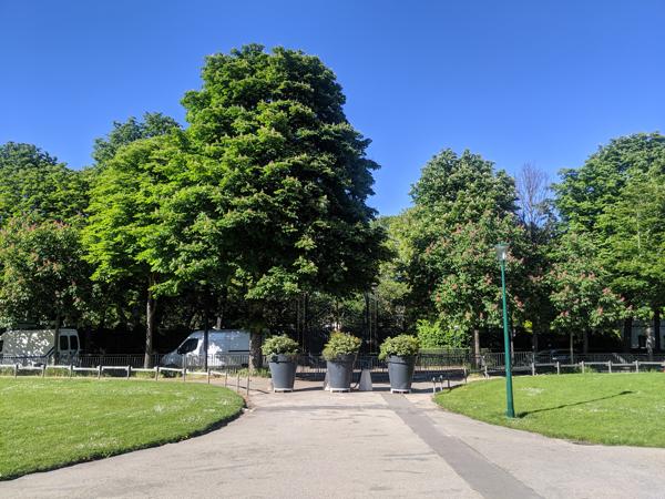 公園 パリ