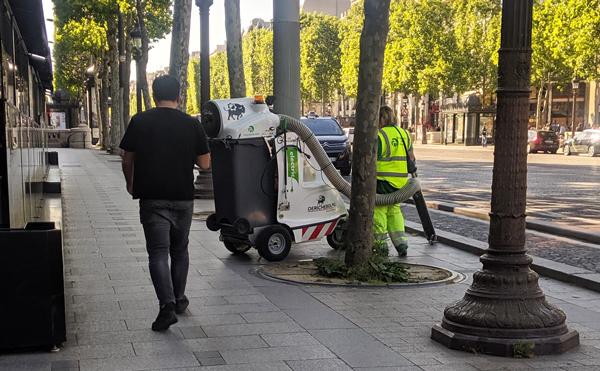 掃除機 パリ