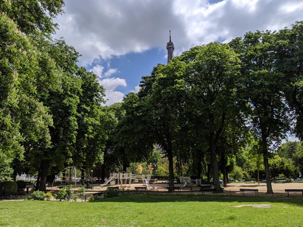 トロカデロ庭園