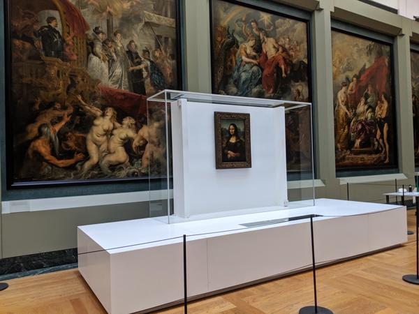 モナリザ ルーヴル美術館