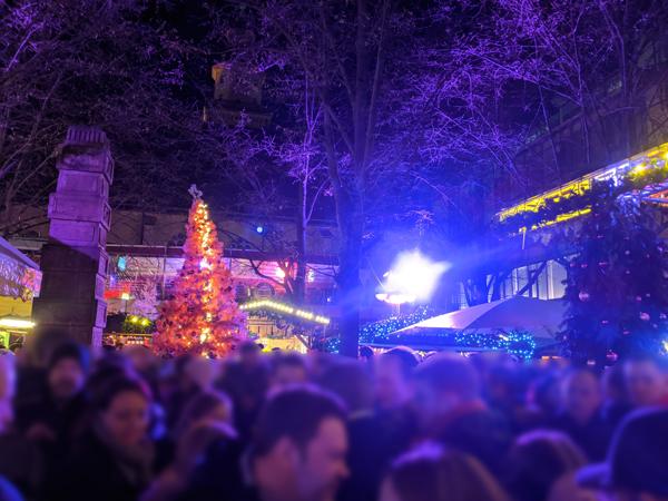 クリスマスマーケット フランクフルト