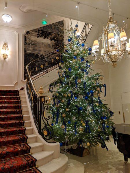 リッツホテル クリスマス